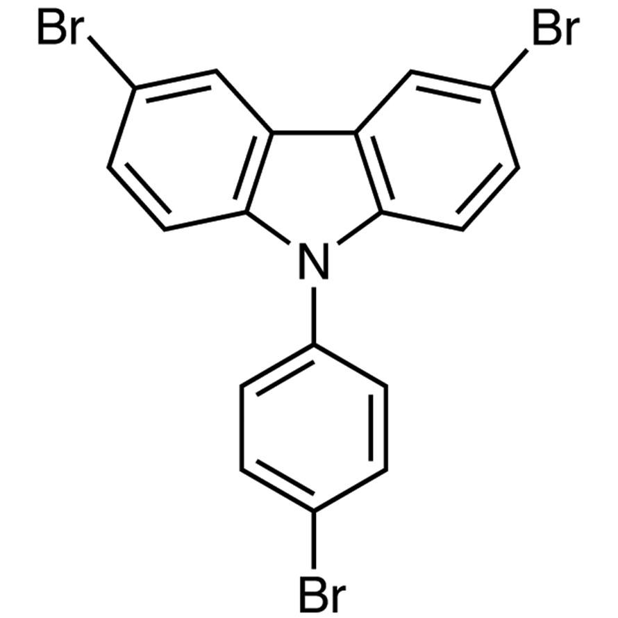 3,6-Dibromo-9-(4-bromophenyl)carbazole