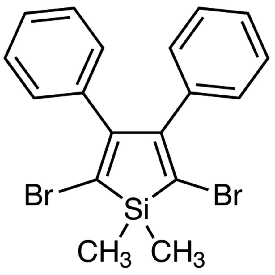 2,5-Dibromo-1,1-dimethyl-3,4-diphenylsilole