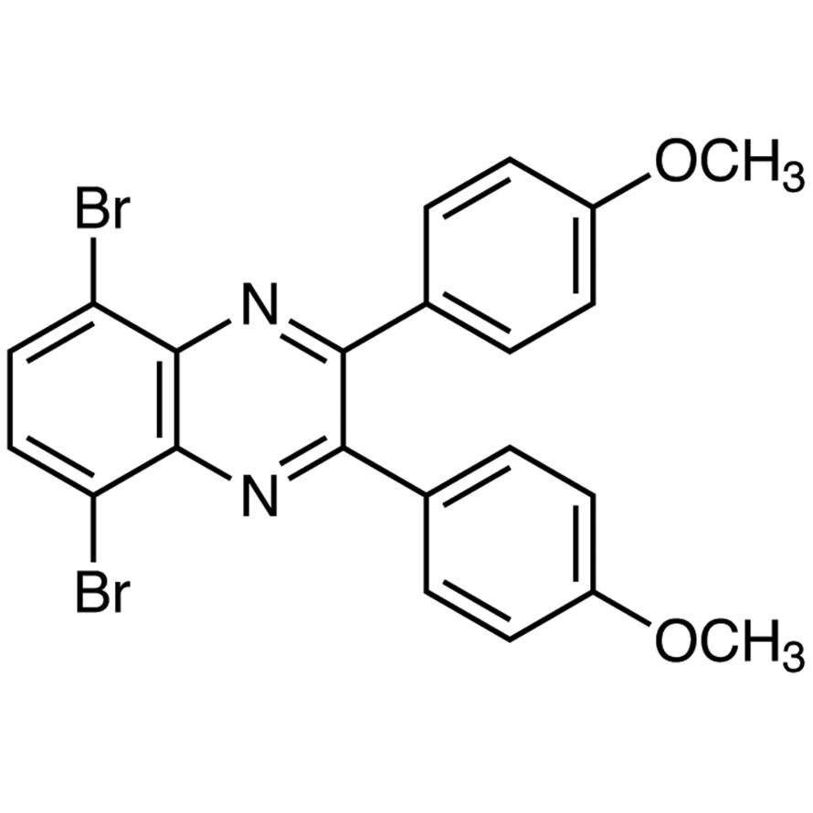 5,8-Dibromo-2,3-bis(4-methoxyphenyl)quinoxaline