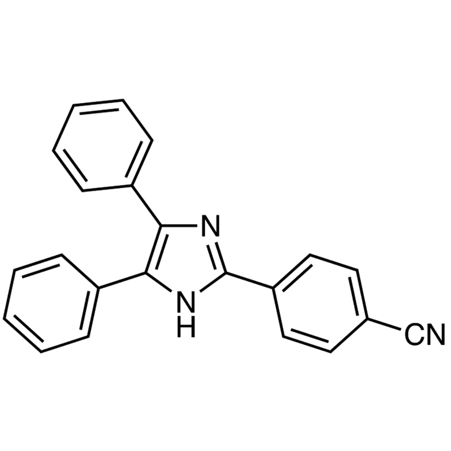 4-(4,5-Diphenyl-1H-imidazol-2-yl)benzonitrile
