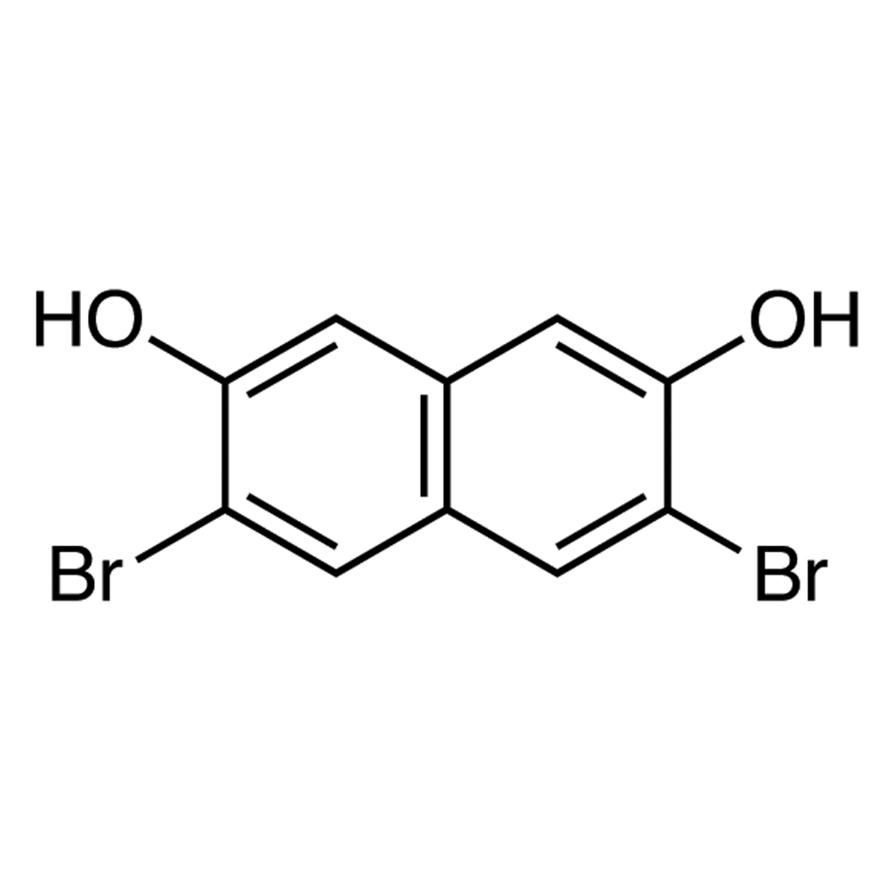 3,6-Dibromo-2,7-dihydroxynaphthalene