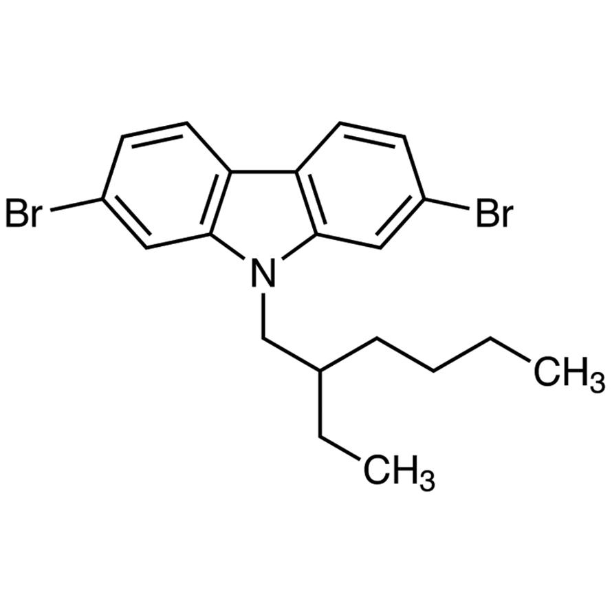 2,7-Dibromo-9-(2-ethylhexyl)carbazole
