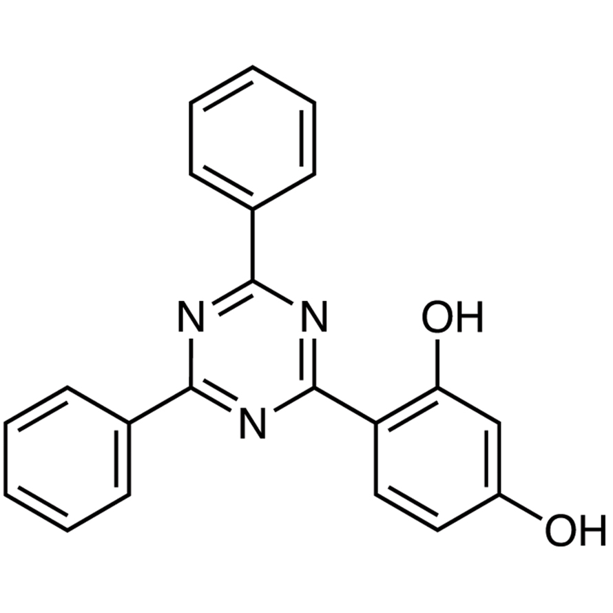 2-(2,4-Dihydroxyphenyl)-4,6-diphenyl-1,3,5-triazine