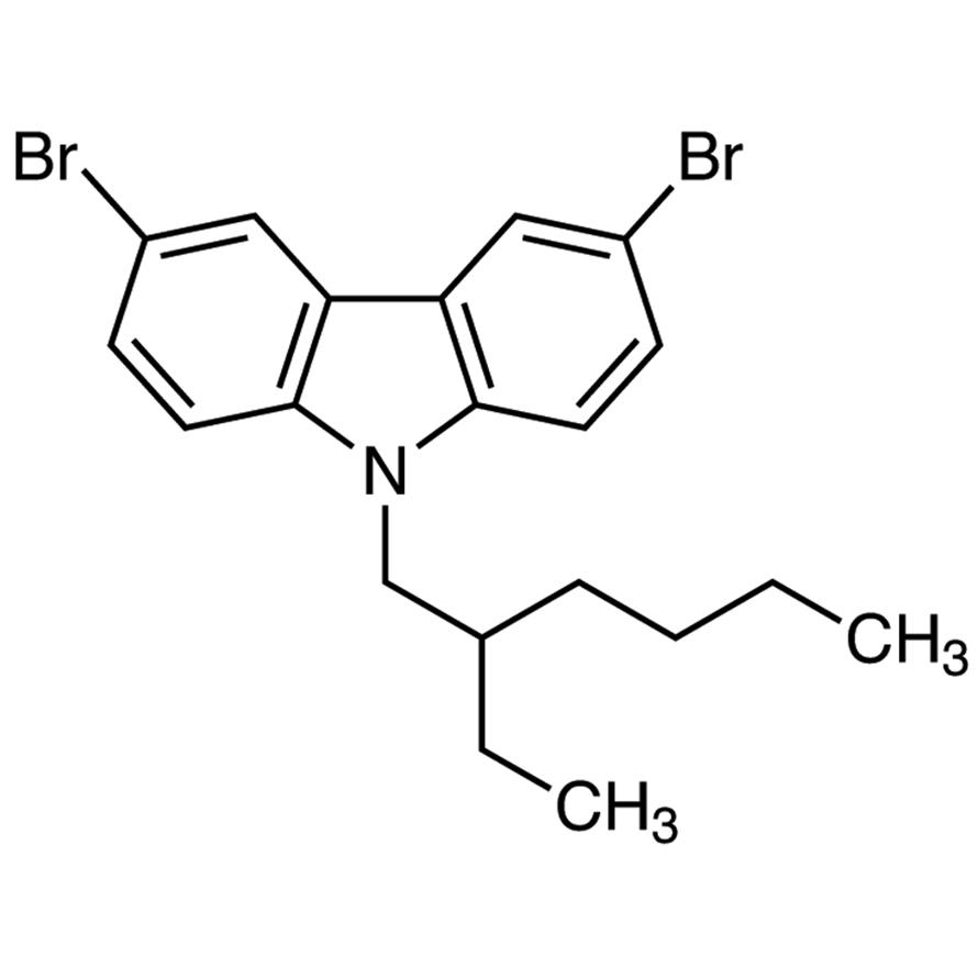 3,6-Dibromo-9-(2-ethylhexyl)carbazole