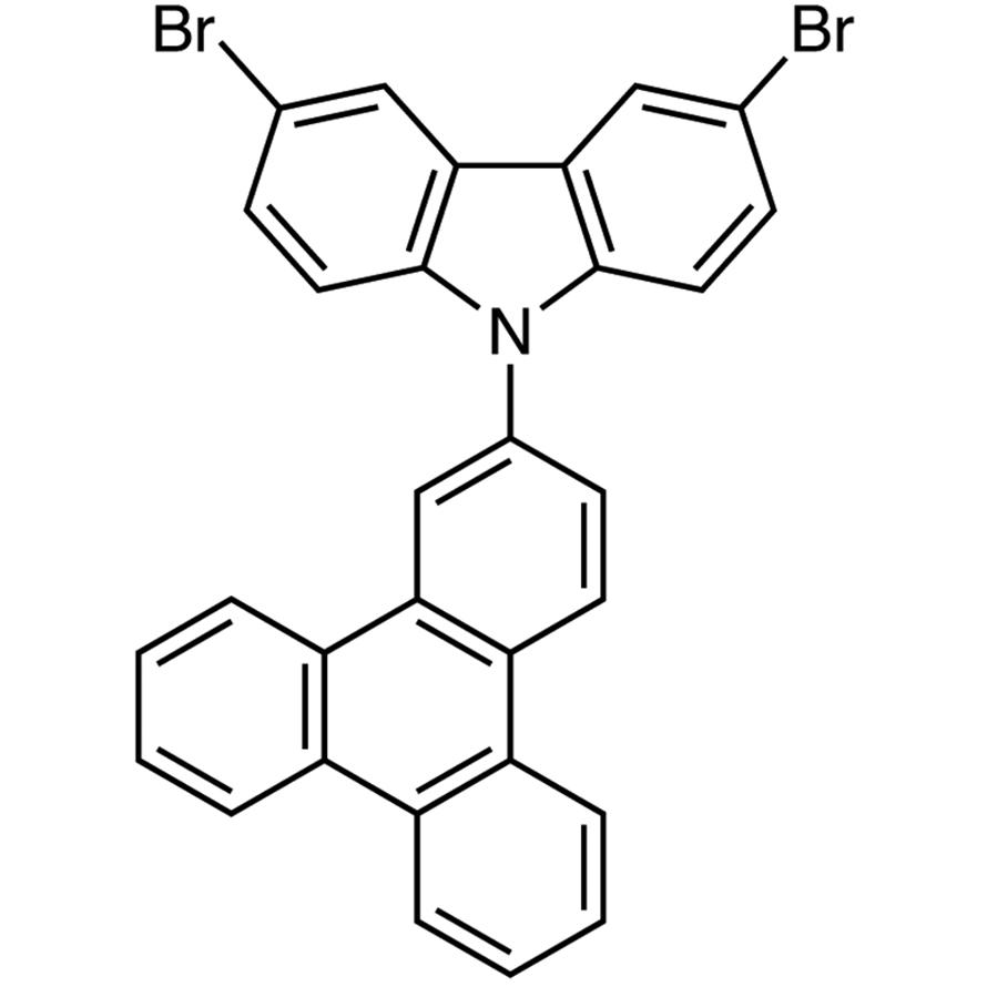 3,6-Dibromo-9-(triphenylen-2-yl)carbazole