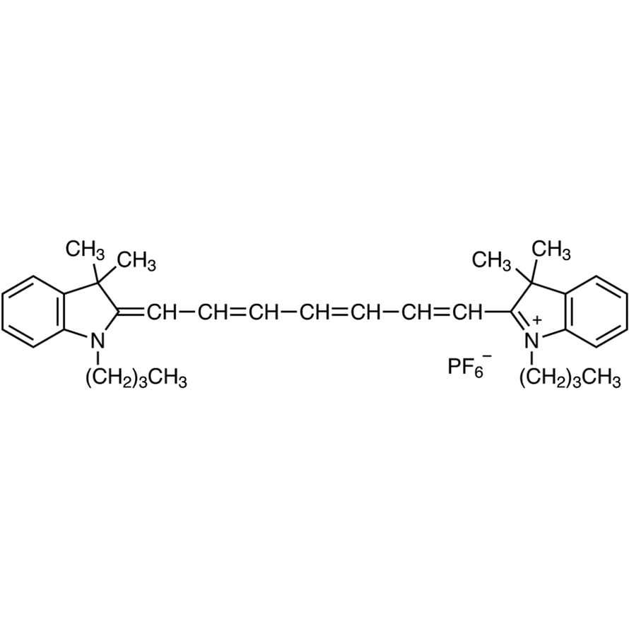 1,1'-Dibutyl-3,3,3',3'-tetramethylindotricarbocyanine Hexafluorophosphate