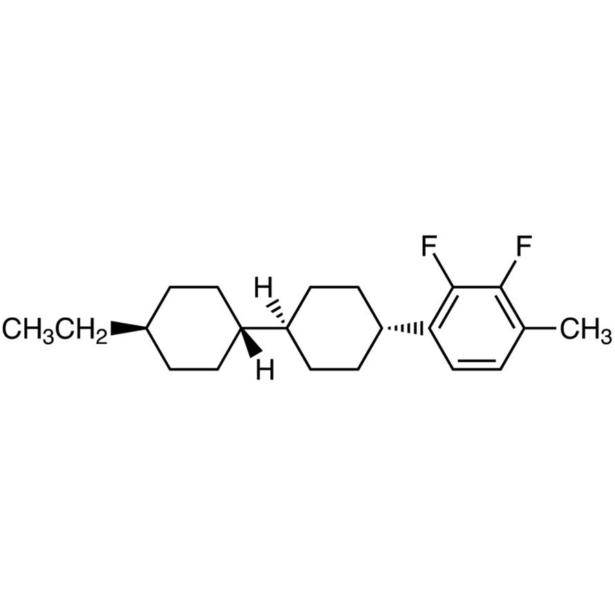 trans,trans-4-(2,3-Difluoro-4-methylphenyl)-4'-ethylbicyclohexyl