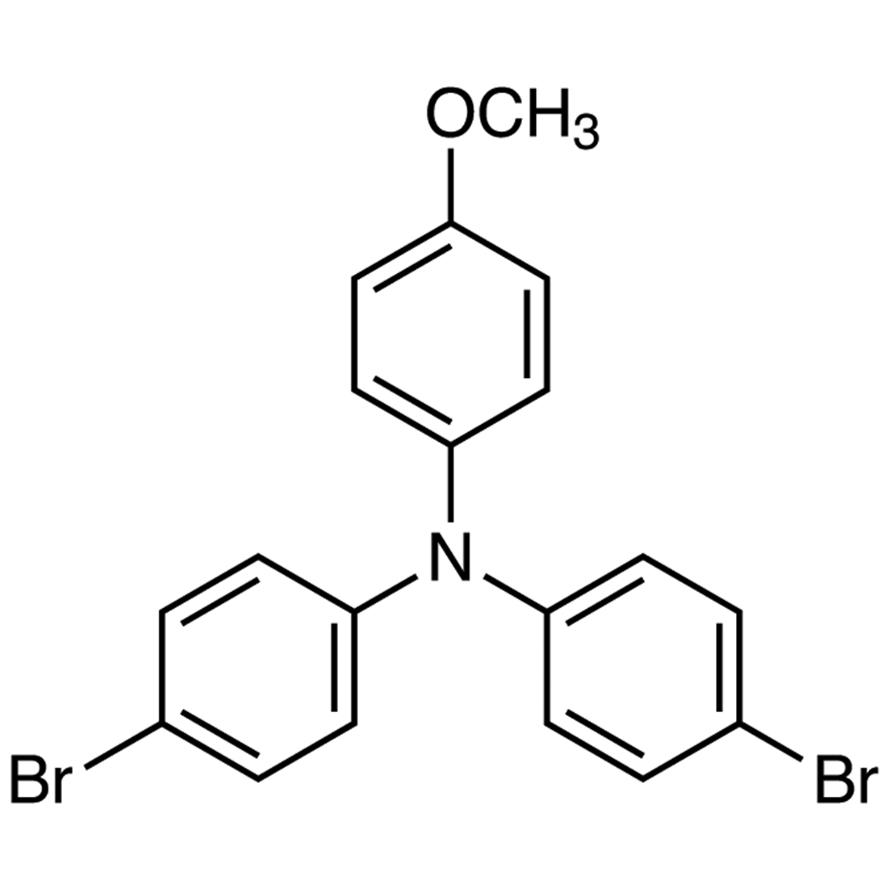 4,4'-Dibromo-4''-methoxytriphenylamine