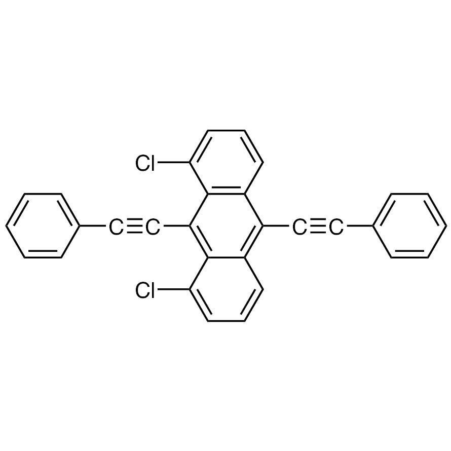 1,8-Dichloro-9,10-bis(phenylethynyl)anthracene