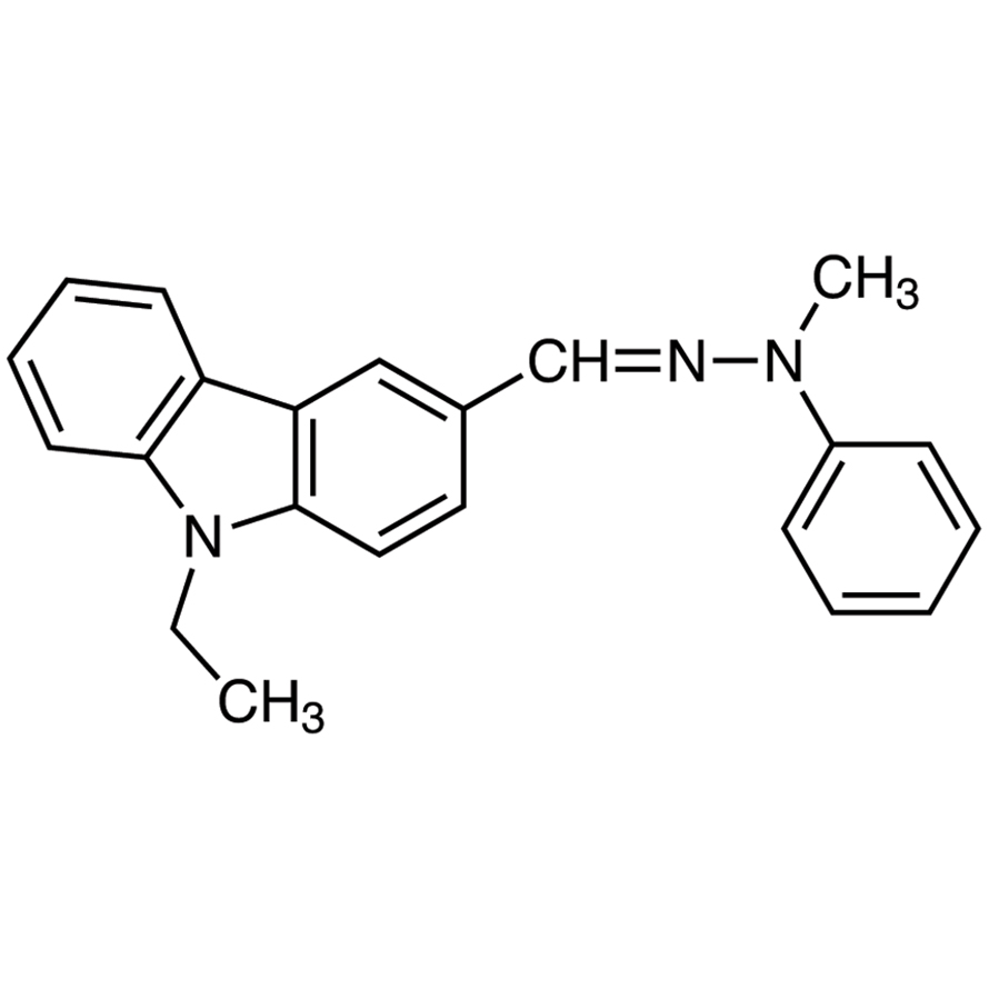 9-Ethylcarbazole-3-carboxaldehyde N-Methyl-N-phenylhydrazone