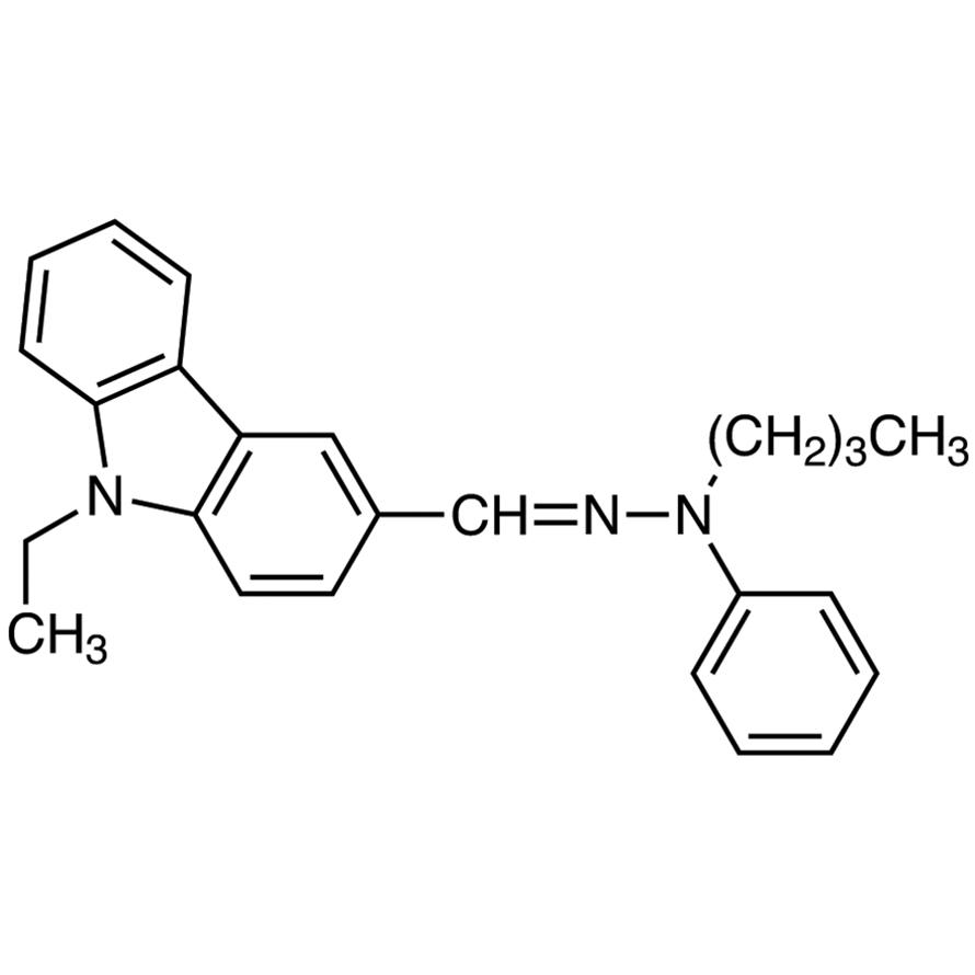 9-Ethylcarbazole-3-carboxaldehyde N-Butyl-N-phenylhydrazone