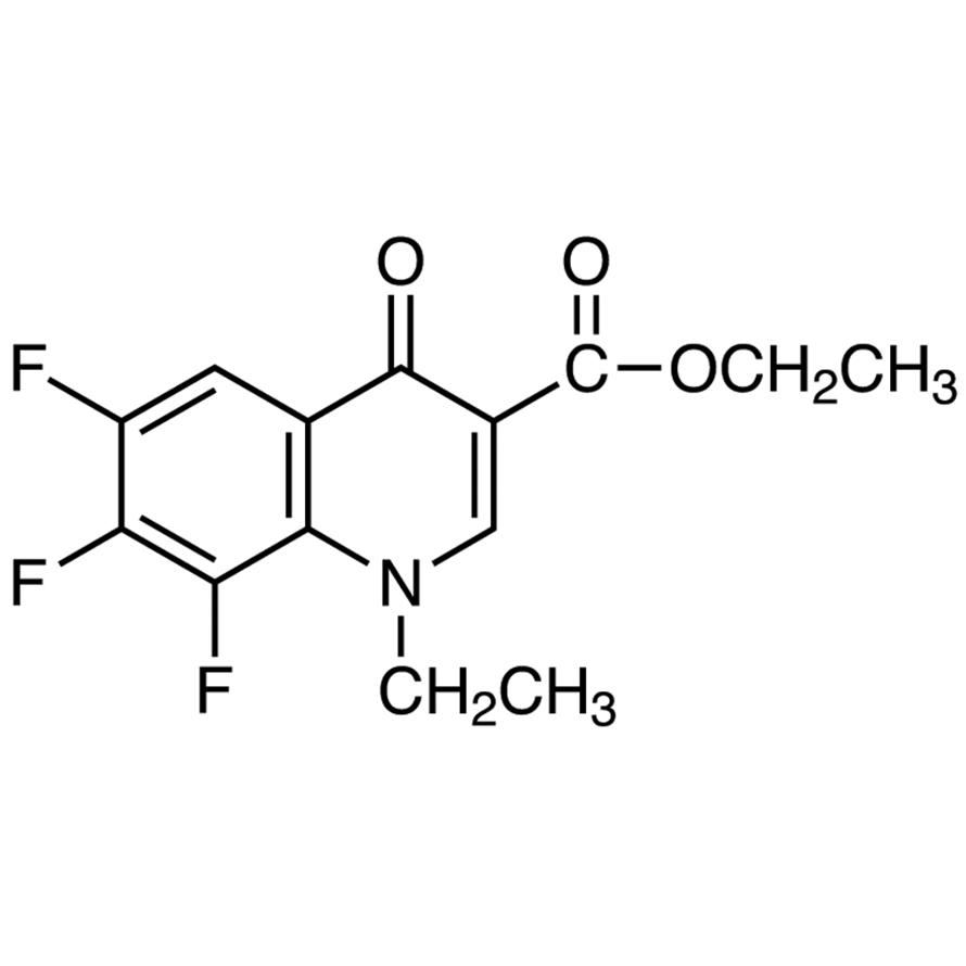 Ethyl 1-Ethyl-6,7,8-trifluoro-1,4-dihydro-4-oxo-3-quinolinecarboxylate