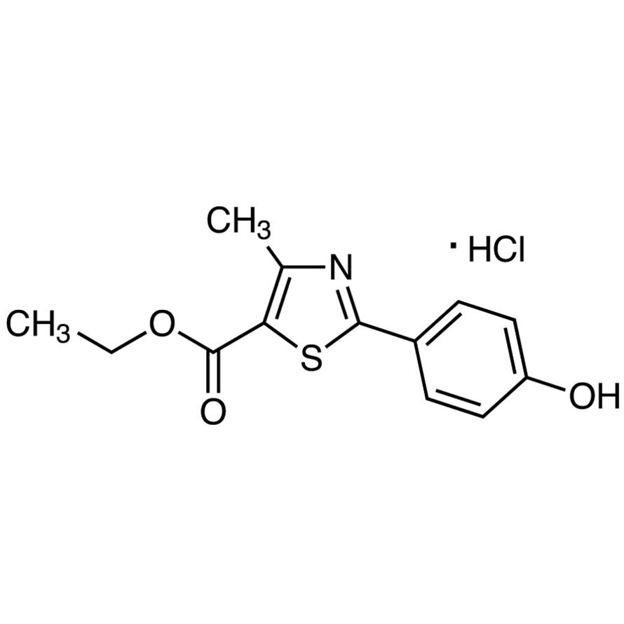 Ethyl 2-(4-Hydroxyphenyl)-4-methylthiazole-5-carboxylate Hydrochloride