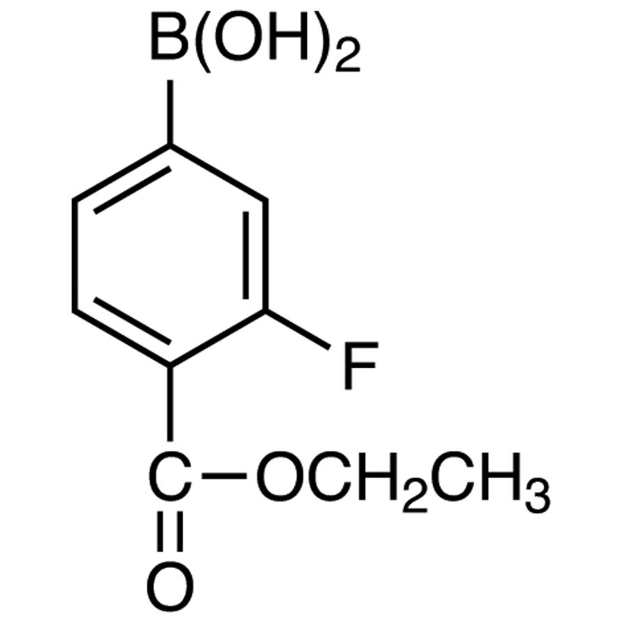 4-(Ethoxycarbonyl)-3-fluorophenylboronic Acid (contains varying amounts of Anhydride)