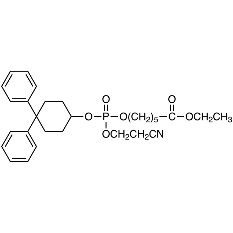 Ethyl 6-[(2-Cyanoethoxy)(4,4-diphenylcyclohexyloxy)phosphoryloxy]hexanoate