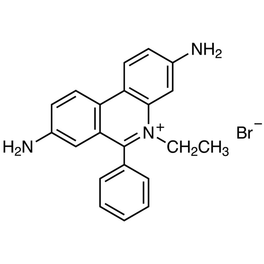 Ethidium Bromide (0.5mg/mL in Water) (in Dropper Bottle) [for Electrophoresis]