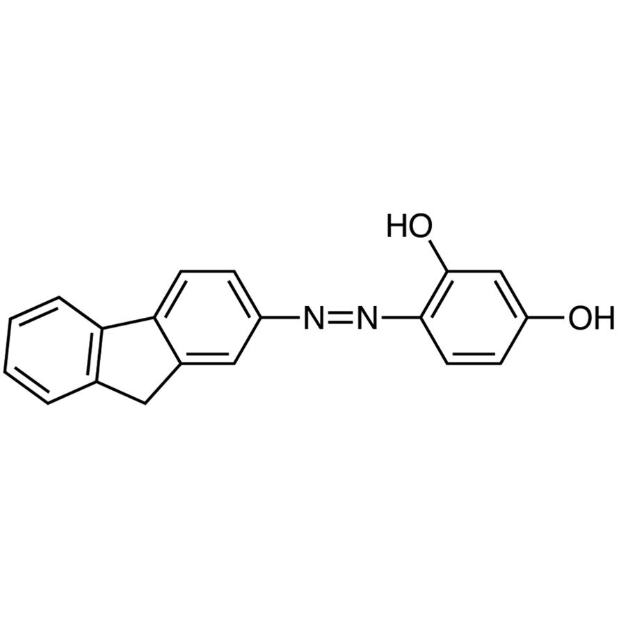 Fluorene-2-azo-2',4'-dihydroxybenzene