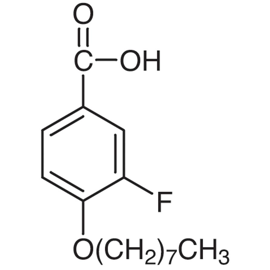 3-Fluoro-4-n-octyloxybenzoic Acid