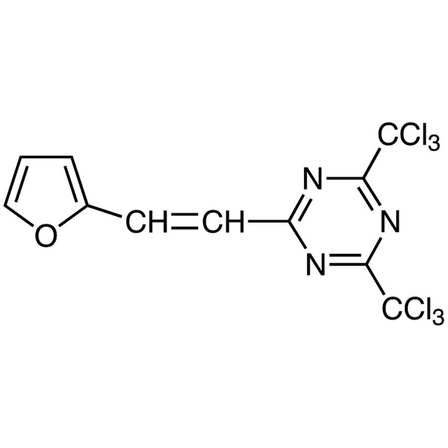 2-[2-(Furan-2-yl)vinyl]-4,6-bis(trichloromethyl)-1,3,5-triazine