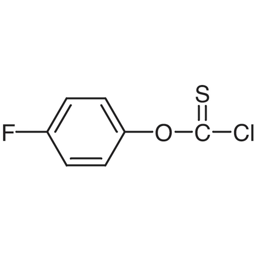 4-Fluorophenyl Chlorothionoformate