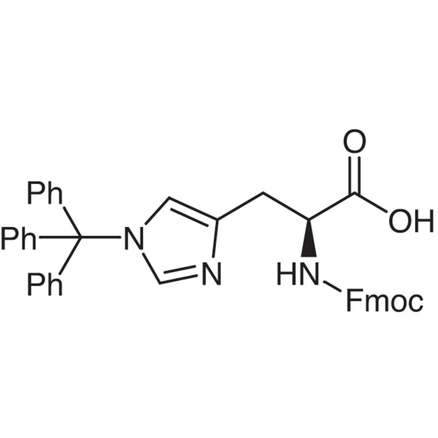 Nα-[(9H-Fluoren-9-ylmethoxy)carbonyl]-τ-(triphenylmethyl)-L-histidine