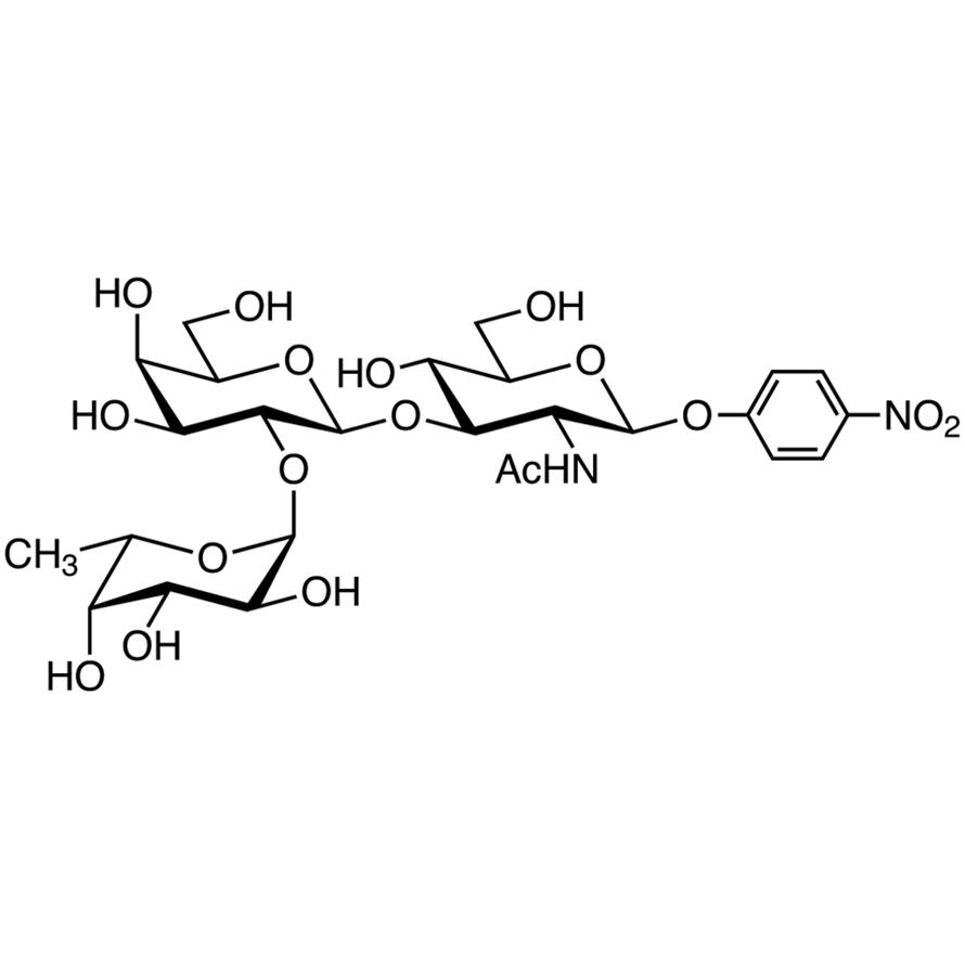 Fuc(1-2)Gal(1-3)GlcNAc--pNP (=H type 1 -pNP Glycoside)