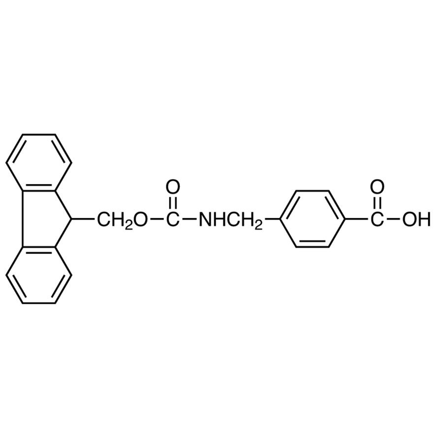 4-[[(9H-Fluoren-9-ylmethoxy)carbonyl]aminomethyl]benzoic Acid