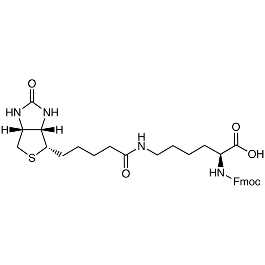 Nα-[(9H-Fluoren-9-ylmethoxy)carbonyl]-Nε-biotinyl-L-lysine