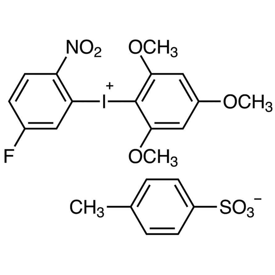 (5-Fluoro-2-nitrophenyl)(2,4,6-trimethoxyphenyl)iodonium p-Toluenesulfonate