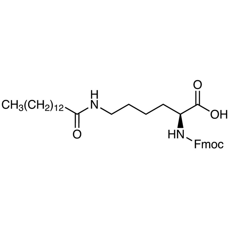N-[(9H-Fluoren-9-ylmethoxy)carbonyl]-N-tetradecanoyl-L-lysine