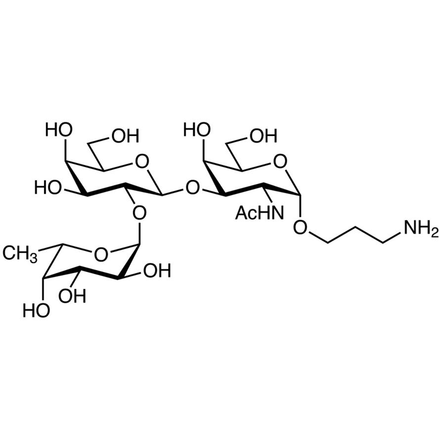 Fuc(1-2)Gal(1-3)GalNAc--propylamine
