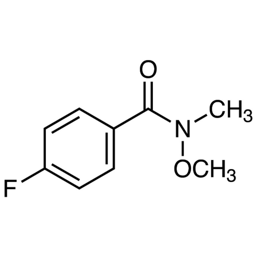 4-Fluoro-N-methoxy-N-methylbenzamide
