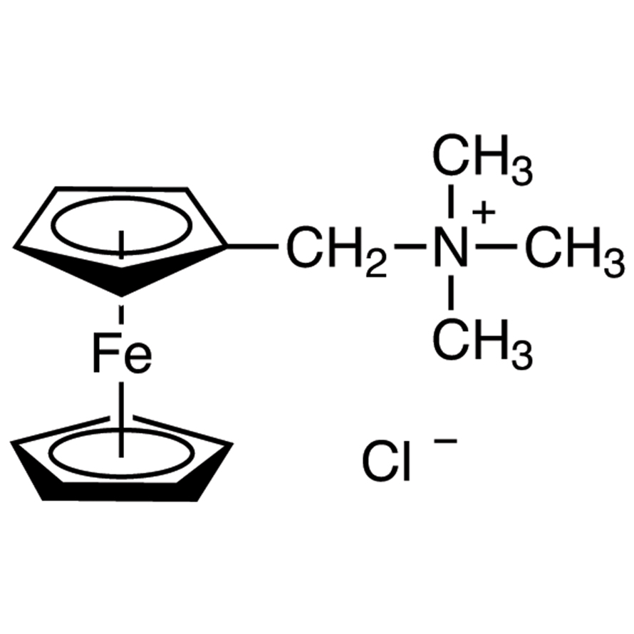 (Ferrocenylmethyl)trimethylammonium Chloride