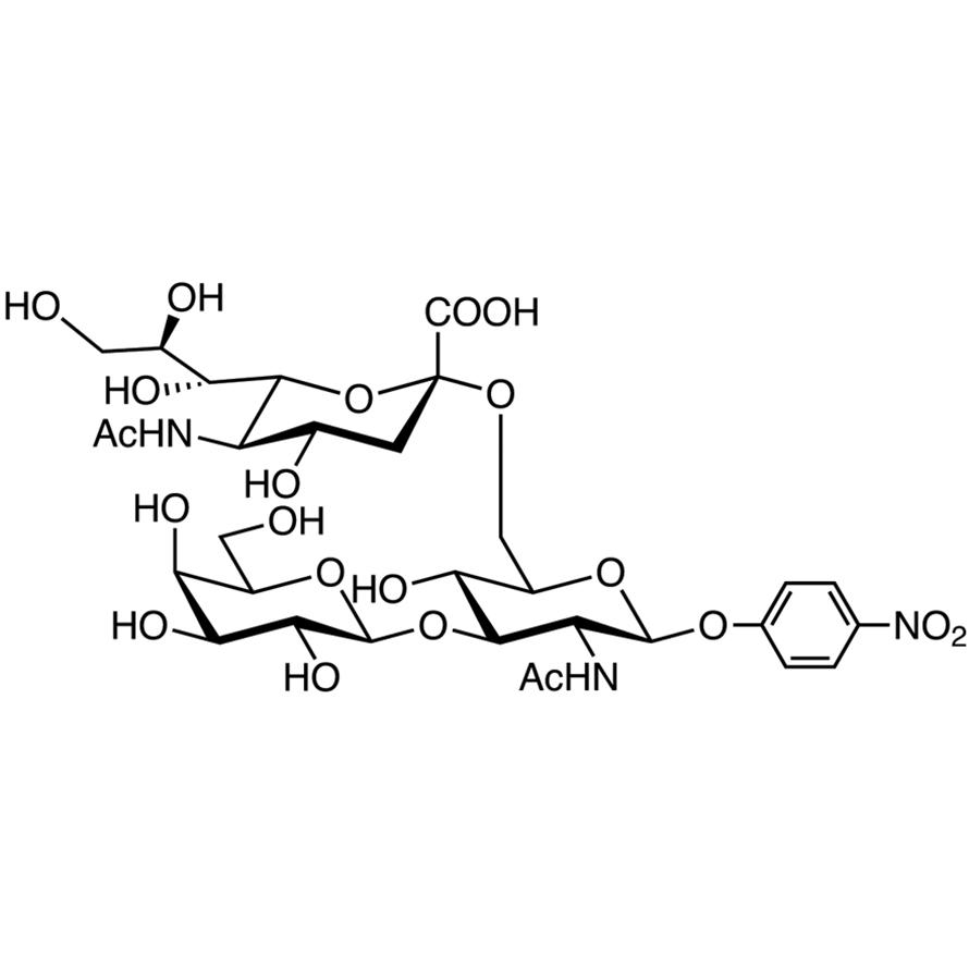 Gal(1-3)[Neu5Ac(2-6)]GlcNAc--pNP