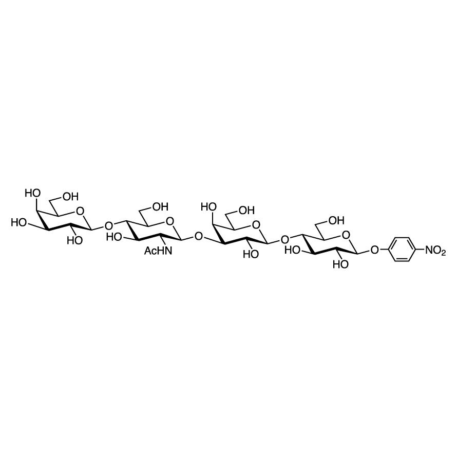 Gal(1-4)GlcNAc(1-3)Gal(1-4)Glc--pNP