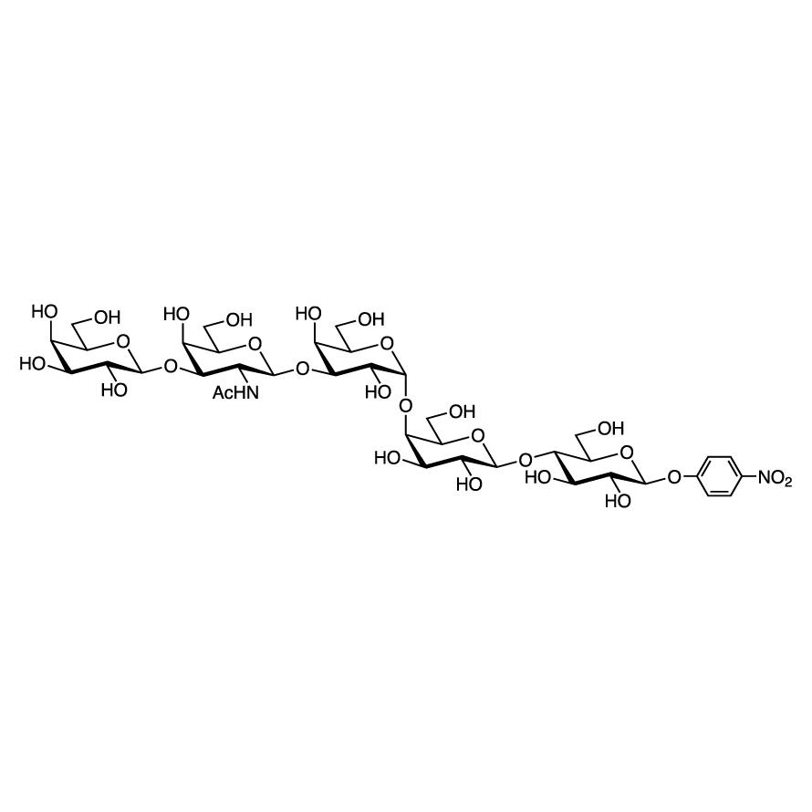 Gal(1-3)GalNAc(1-3)Gal(1-4)Gal(1-4)Glc--pNP