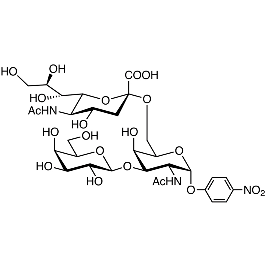 Gal(1-3)[Neu5Ac(2-6)]GalNAc--pNP