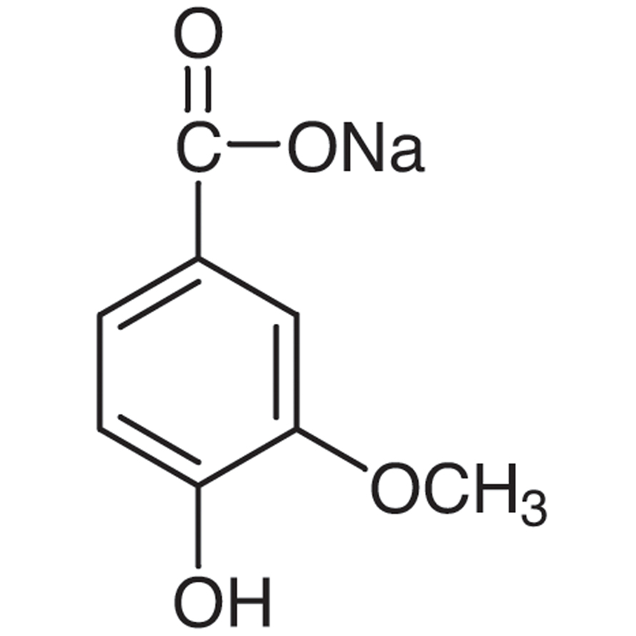 Sodium 4-Hydroxy-3-methoxybenzoate