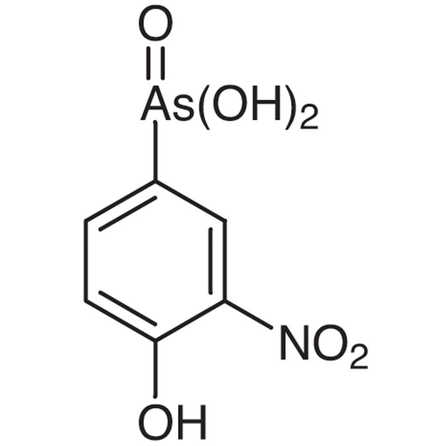 4-Hydroxy-3-nitrophenylarsonic Acid