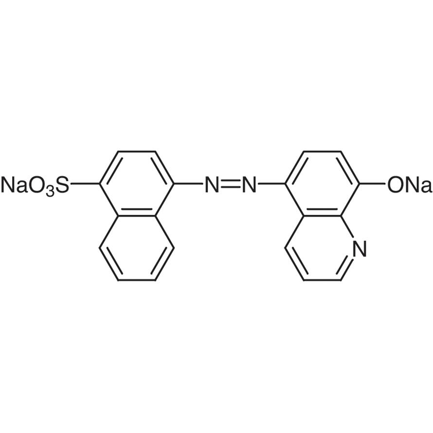 4-(8-Hydroxy-5-quinolylazo)-1-naphthalenesulfonic Acid Disodium Salt