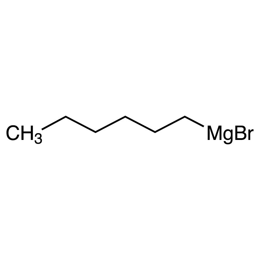 Hexylmagnesium Bromide (20% in Tetrahydrofuran, ca. 1mol/L)