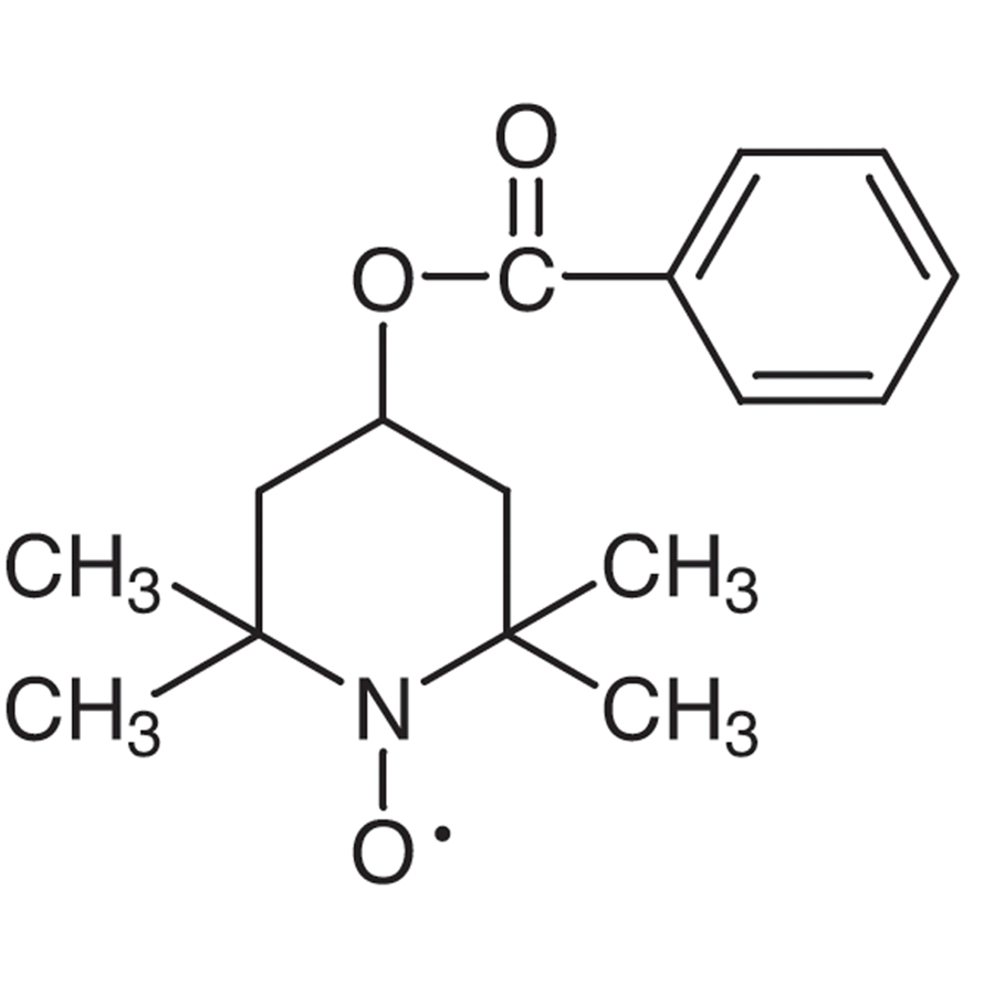 4-Hydroxy-2,2,6,6-tetramethylpiperidine 1-Oxyl Benzoate Free Radical [Catalyst for Oxidation]