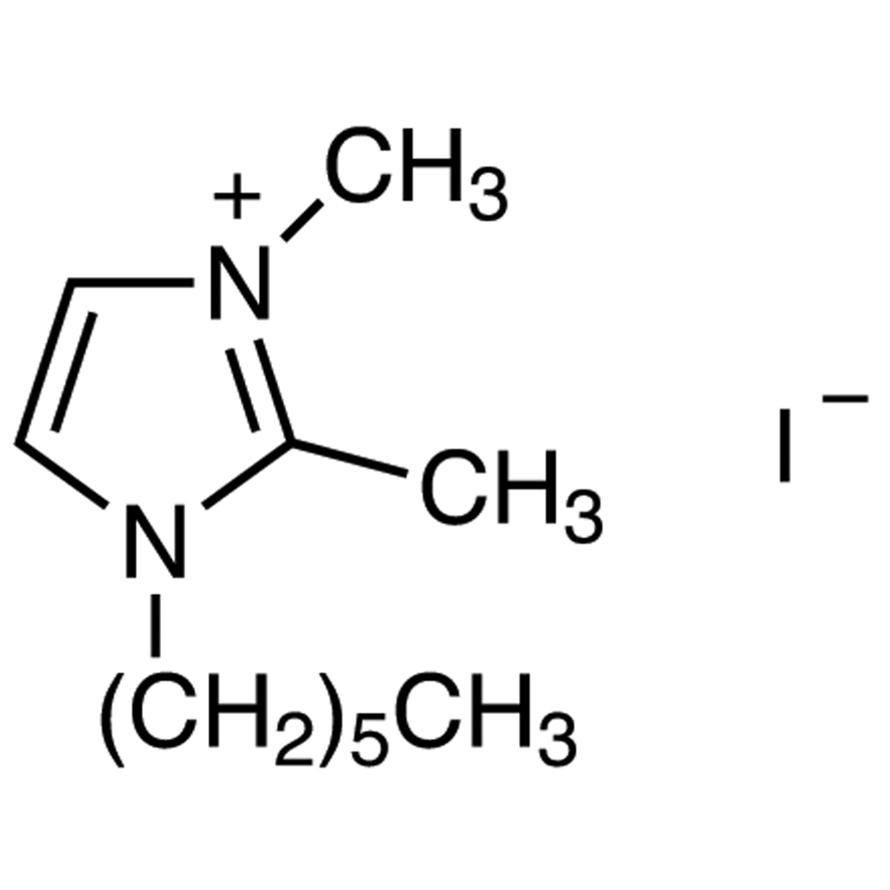 1-Hexyl-2,3-dimethylimidazolium Iodide