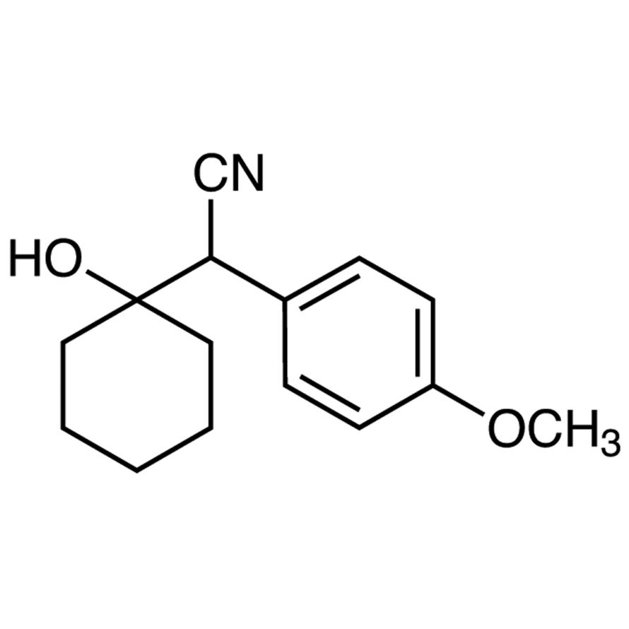 (1-Hydroxycyclohexyl)(4-methoxyphenyl)acetonitrile