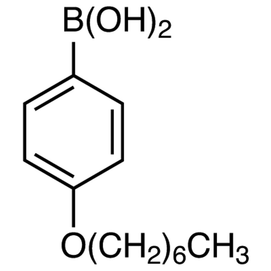 4-Heptyloxyphenylboronic Acid (contains varying amounts of Anhydride)