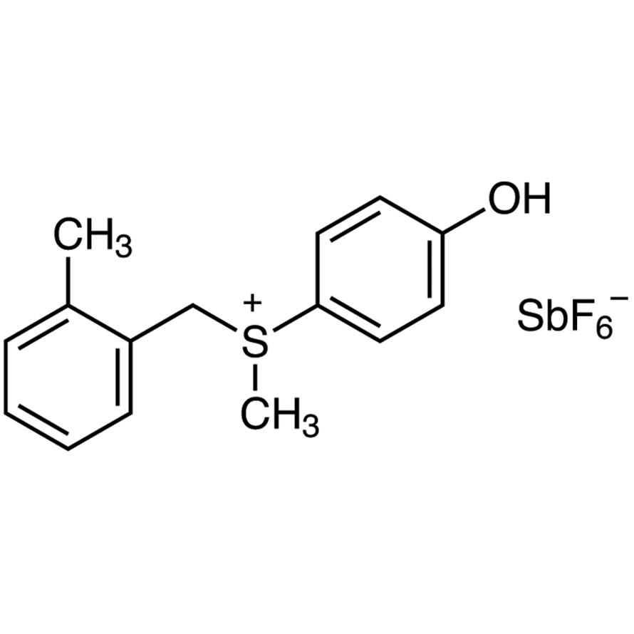 (4-Hydroxyphenyl)methyl(2-methylbenzyl)sulfonium Hexafluoroantimonate