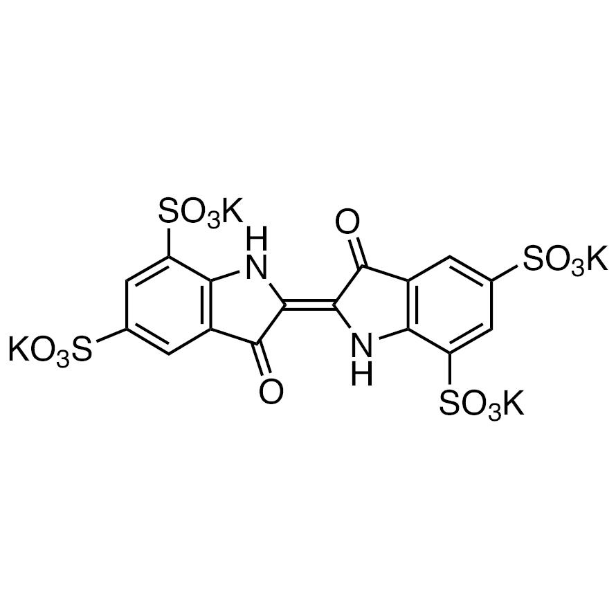 Indigotetrasulfonic Acid Tetrapotassium Salt