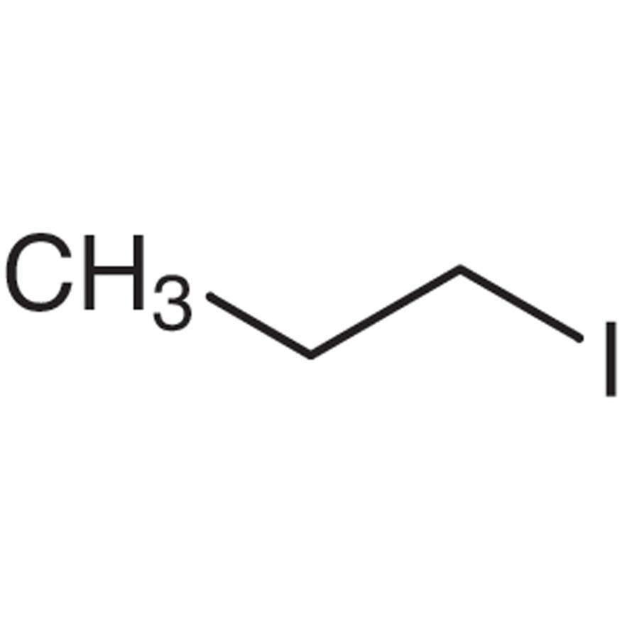 1-Iodopropane (stabilized with Copper chip)