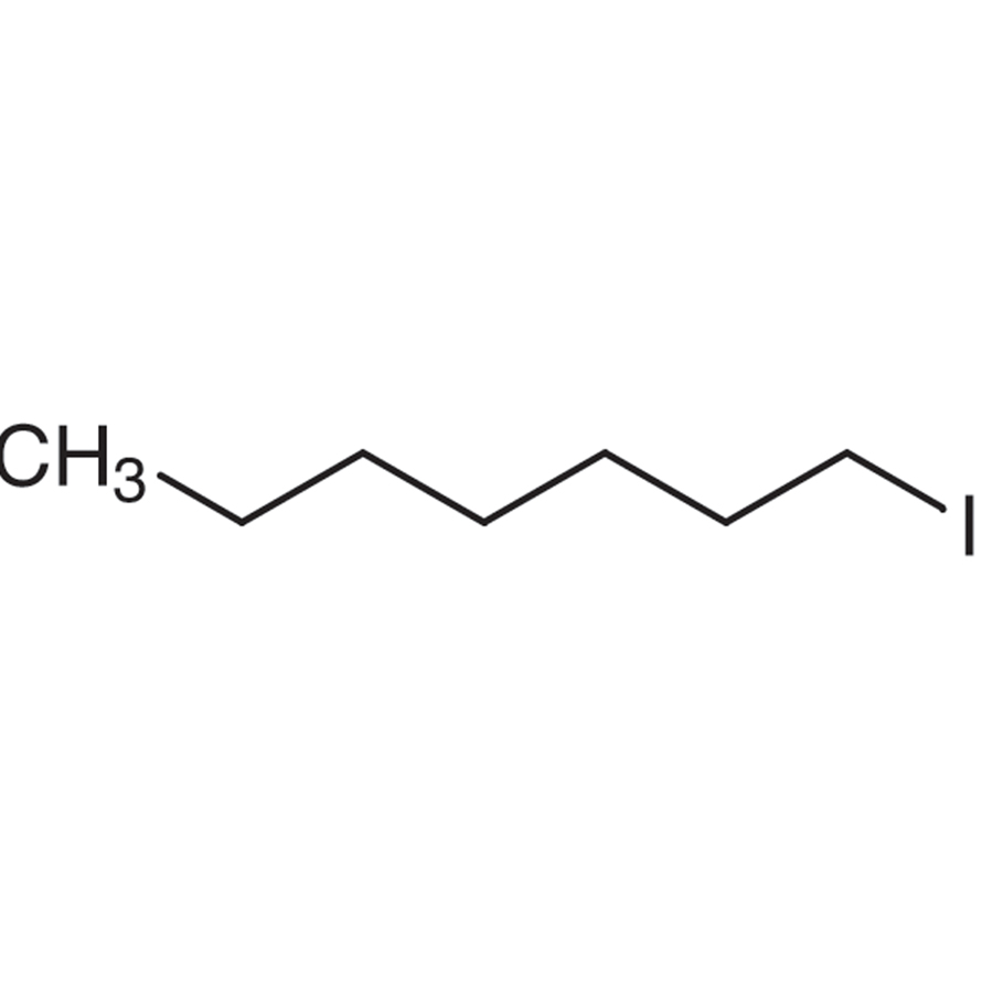 1-Iodoheptane (stabilized with Copper chip)
