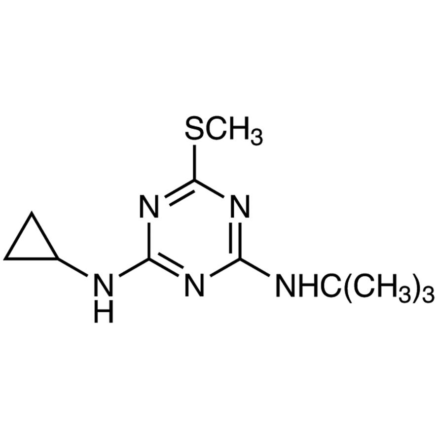 2-(tert-Butylamino)-4-(cyclopropylamino)-6-(methylthio)-1,3,5-triazine